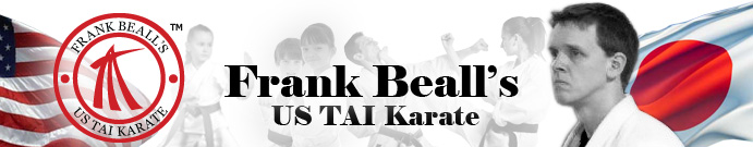 Frank Beall's US  TAI Karate Banner